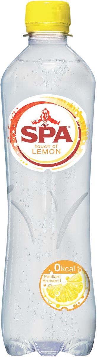 Spa Touch of lemon water, fles van 50 cl, pak van 24 stuks