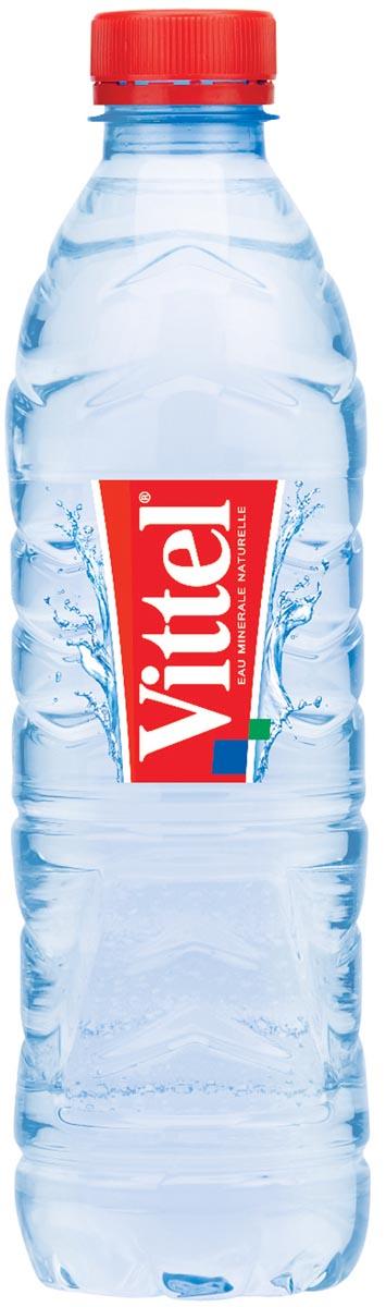 Vittel water, fles van 50 cl, pak van 24 stuks