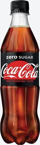 Coca-Cola Zero frisdrank, fles van 50 cl, pak van 24 stuks