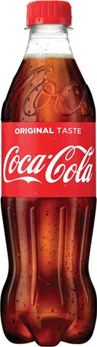 Coca-Cola frisdrank, fles van 50 cl, pak van 24 stuks