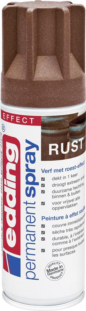 Edding Permanent Spray 5200, 200 ml, roest-effect