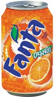 Fanta Orange frisdrank, blik van 33 cl, pak van 24 stuks-2