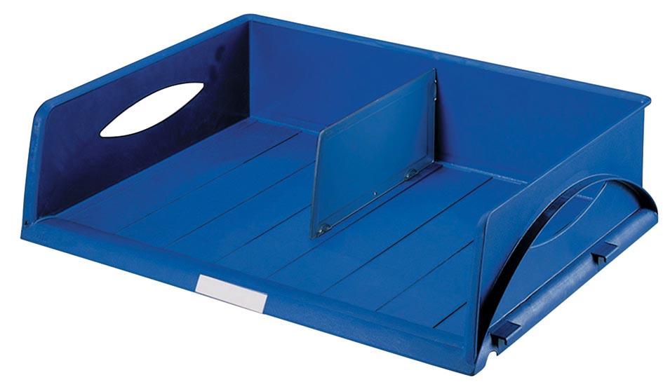 Leitz brievenbakje Sorty jumbo blauw