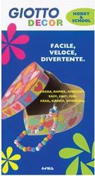 Giotto Decor Metal viltstiften, schoolpack met 24 stuks in geassorteerde kleuren
