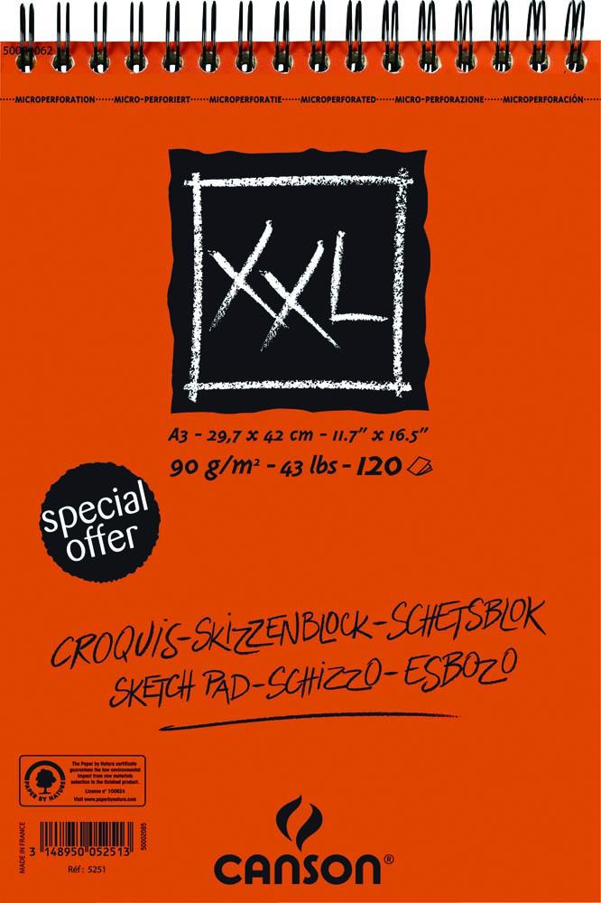 Canson schetsblok XXL