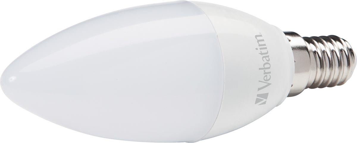 Verbatim LED kaarslamp, fitting E14, 4,5 W, 2700 K
