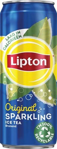 Lipton Ice Tea frisdrank, sleek blik van 33 cl, pak van 24 stuks