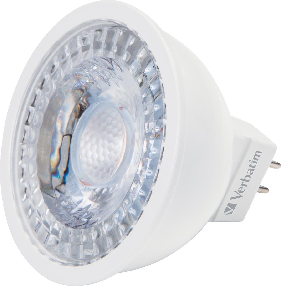 Verbatim LED spot, fitting GU5.3, 4,8 W, 2700 K