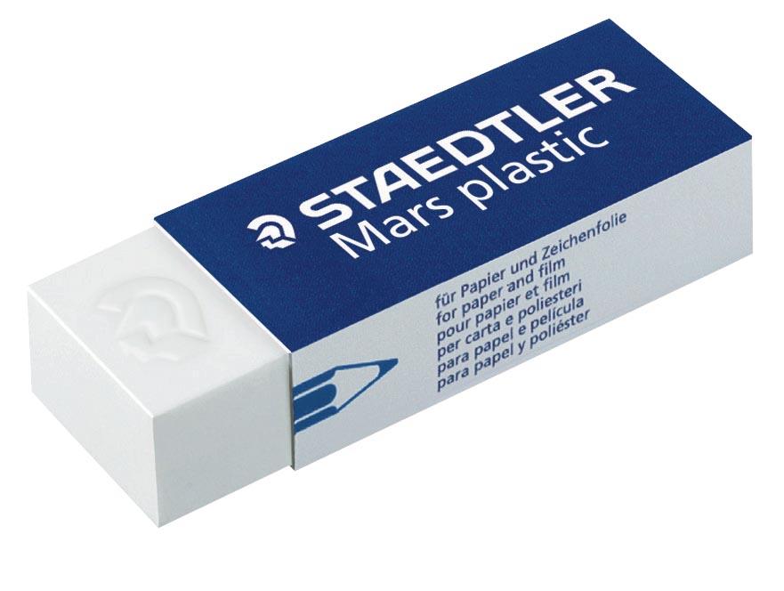 Staedtler gum Mars Plastic, doos van 20 stuks