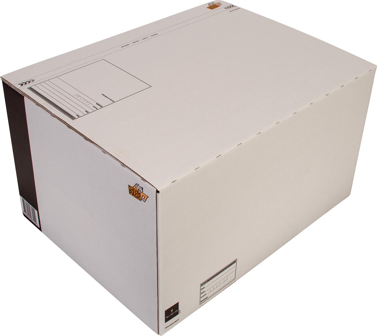 Cleverpack postpakketdoos, ft 485 x 369 x 269 mm, pak van 5 stuks