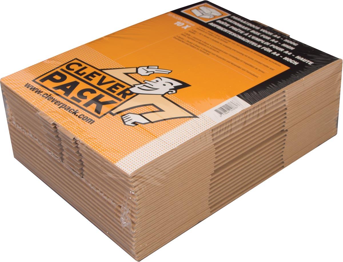 Cleverpack opbergdoos A4, ft 307 x 220 x 108 mm, pak van 10 stuks-2