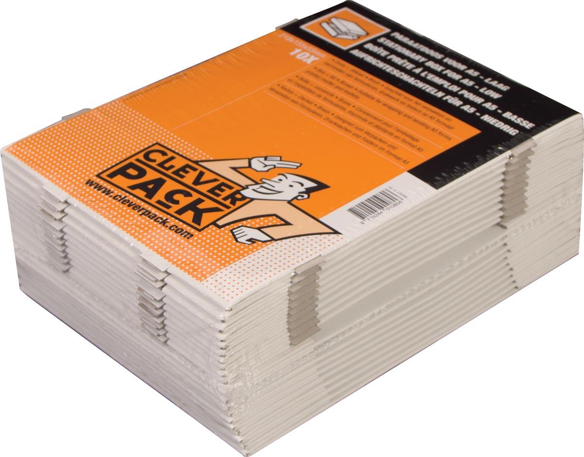 Cleverpack opbergdoos A5, ft 218 x 155 x 55 mm, pak van 10 stuks-2
