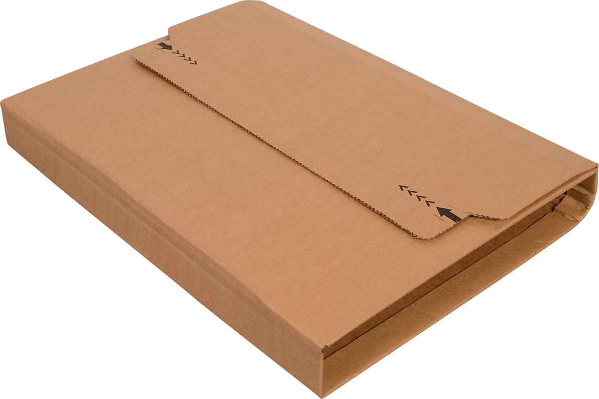 Cleverpack wikkelverpakking uit golfkarton, ft 270 x 330 x 20 / 80, pak van 10 stuks-2
