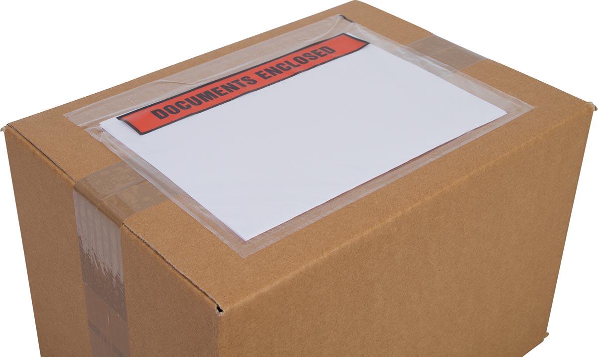 Cleverpack documenthouder Documents Enclosed, ft 230 x 157 mm, pak van 100 stuks-3