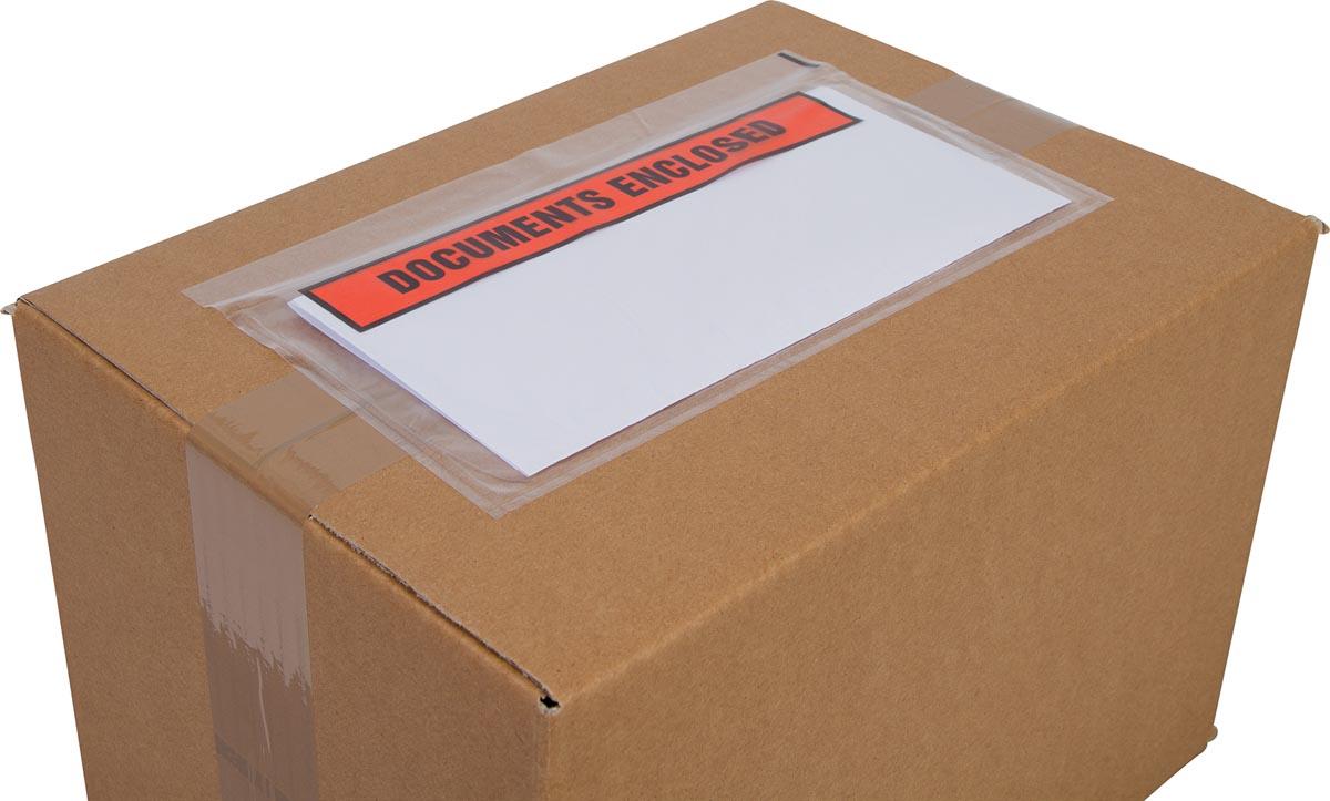 Cleverpack documenthouder Documents Enclosed, ft 230 x 112 mm, pak van 100 stuks-3