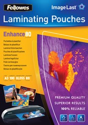 Fellowes lamineerhoes ft A3, 160 micron (2 x 80 micron), pak van 100 stuks