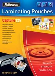 Fellowes lamineerhoes Capture125 ft A6, 250 micron (2  x 125 micron), pak van 100 stuks