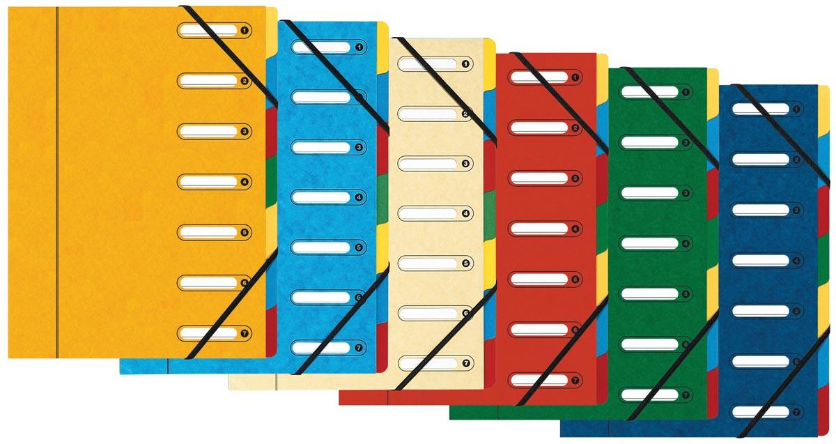Exacompta Sorteermap Harmonika met 7 vakken