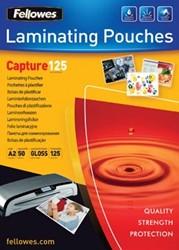 Fellowes lamineerhoes ft A2, 250 micron (2 x 125 micron), pak van 50 stuks