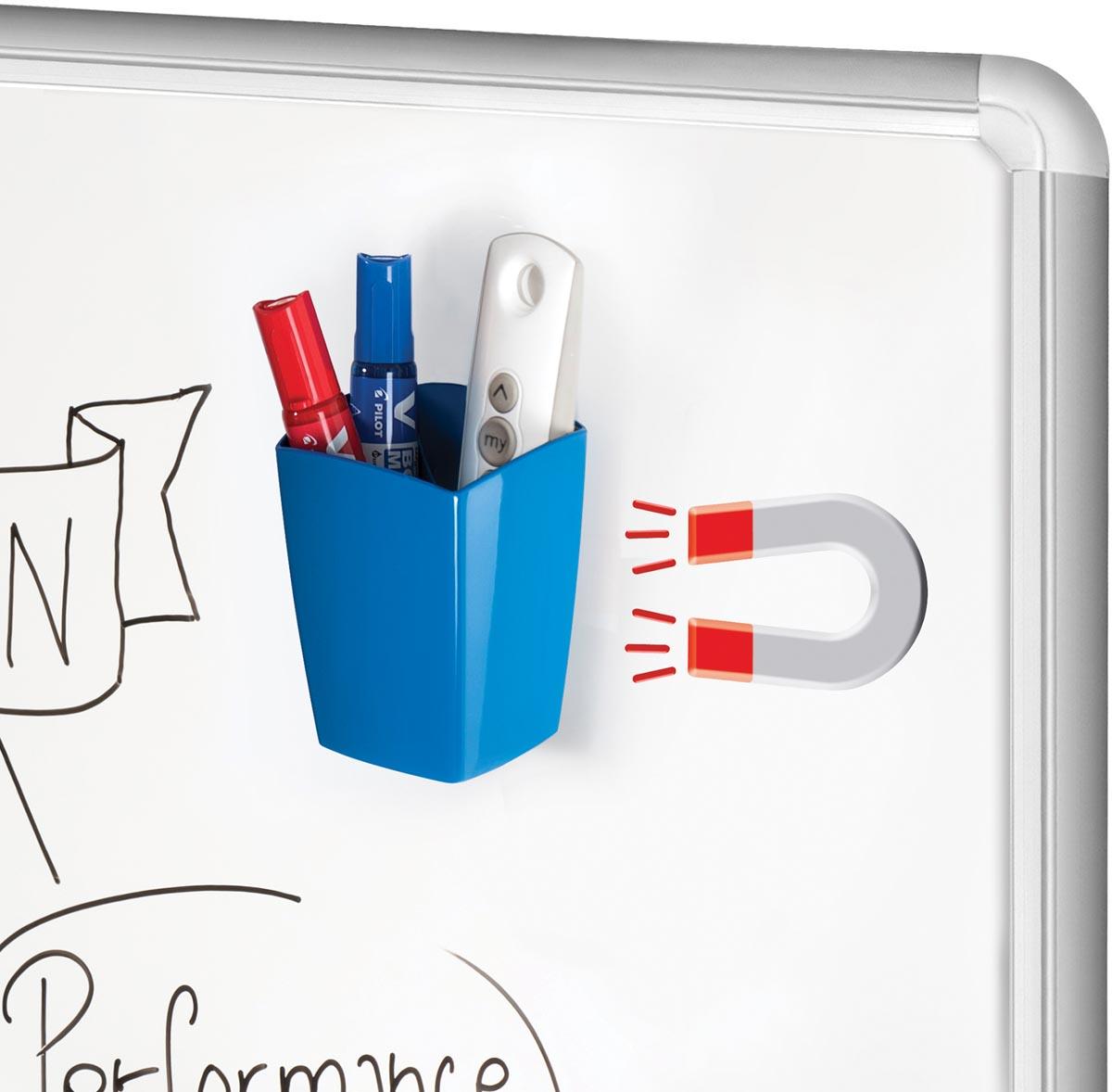 CEP magnetisch pennenbakje Gloss Blue Ocean, blauw