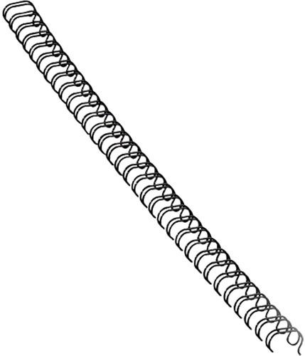 Fellowes draadruggen, doos van 100 stuks, 12 mm, zwart