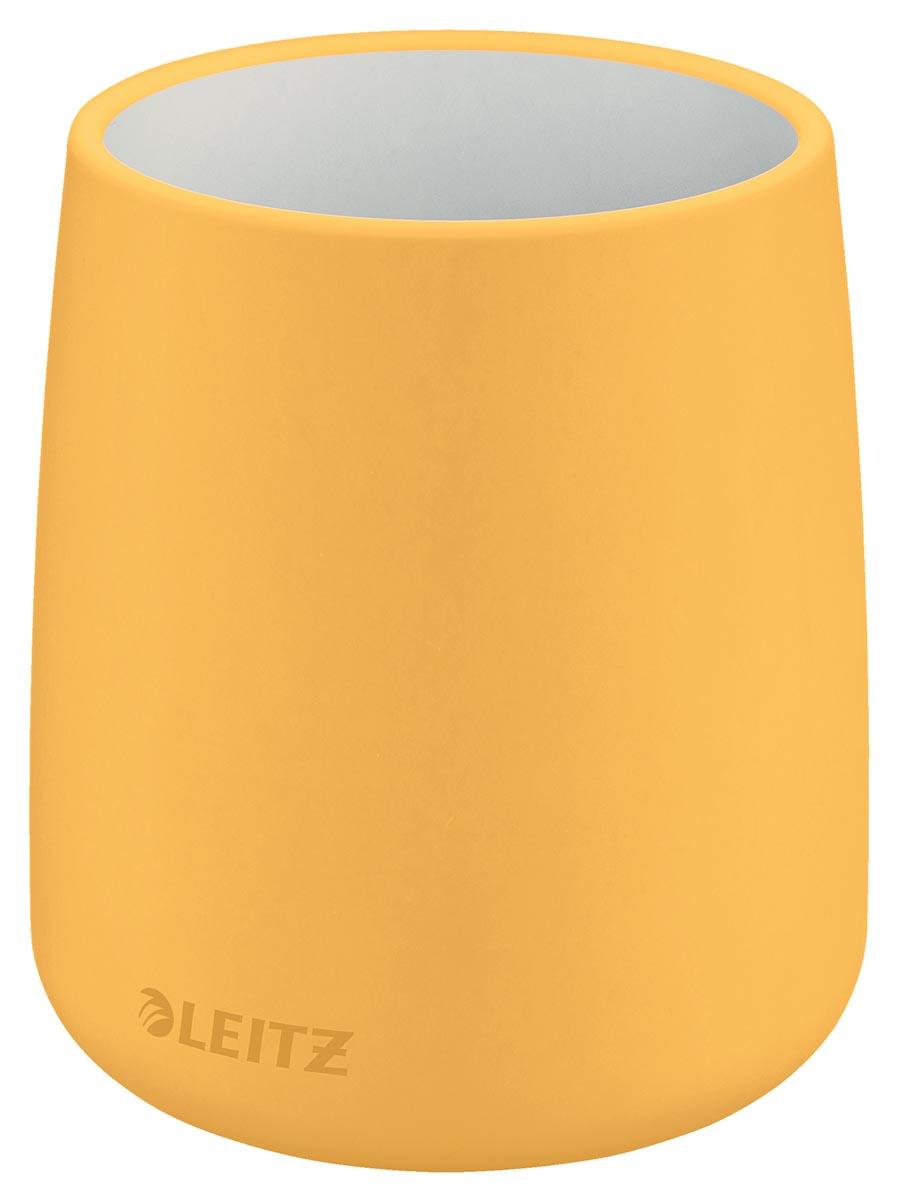 Leitz Cosy keramisch pennenbakje, geel