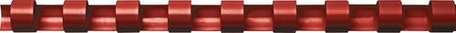 Fellowes bindruggen, pak van 100 stuks, 8 mm, rood