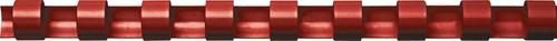 Fellowes bindruggen, pak van 100 stuks, 10 mm, rood