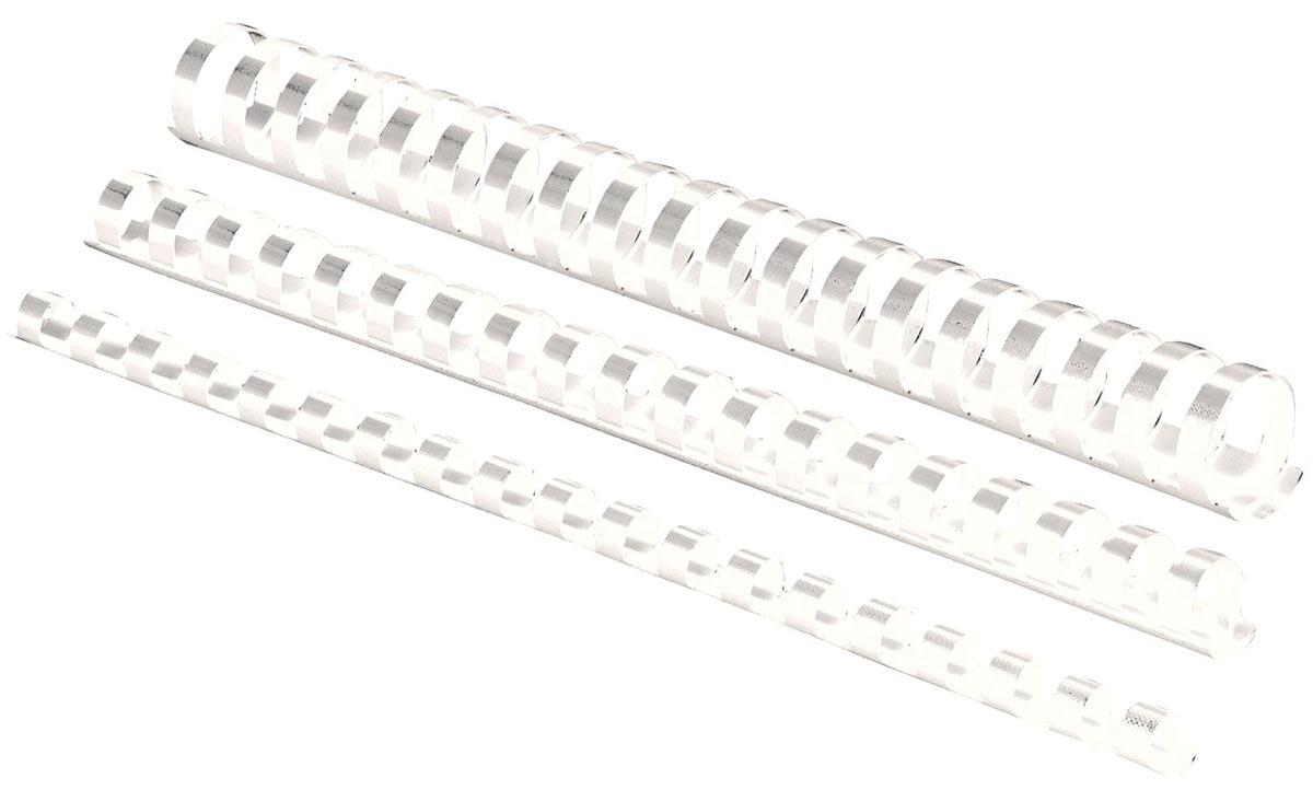 Fellowes bindruggen, pak van 50 stuks, 32 mm, wit