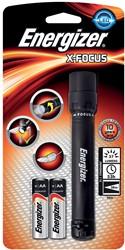 Energizer zaklamp X-focus, inclusief 2 AA batterijen, op blister