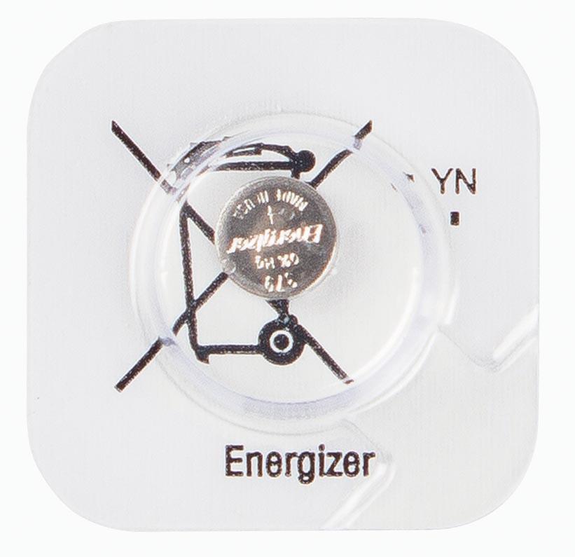 Energizer batterij knoopcel 379, op mini-blister