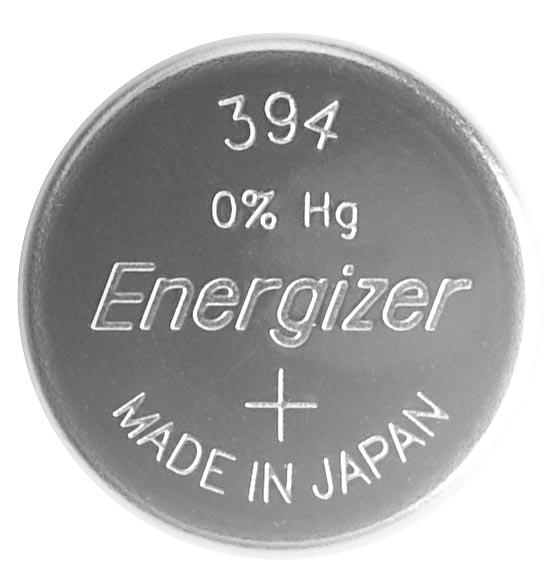 Energizer knoopcel 394/380, op mini-blister