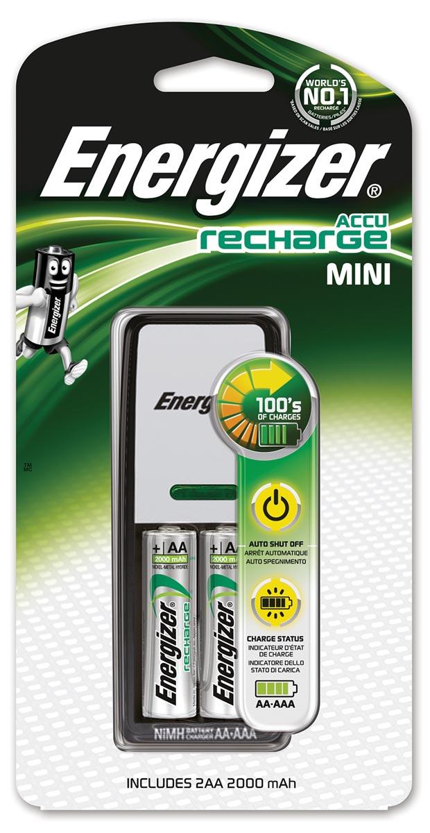 Energizer Batterijlader Energizer Mini +2xAA 2000 (274820)