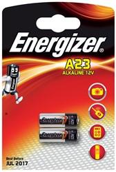 Energizer batterij Alkaline A23, blister van 2 stuks