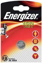 Energizer knoopcel CR1632, op blister