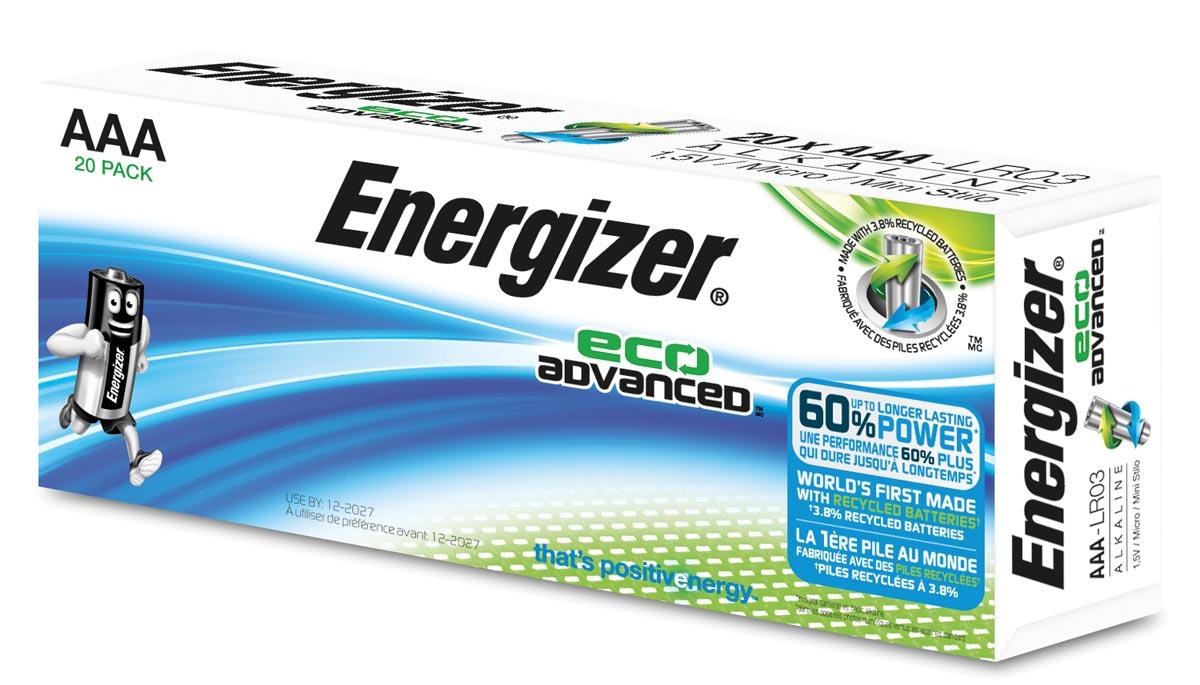 ENERGIZER Batterijen AAA 20