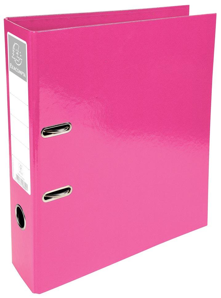 Exacompta Iderama ordner, ft A4, rug van 7 cm, roze