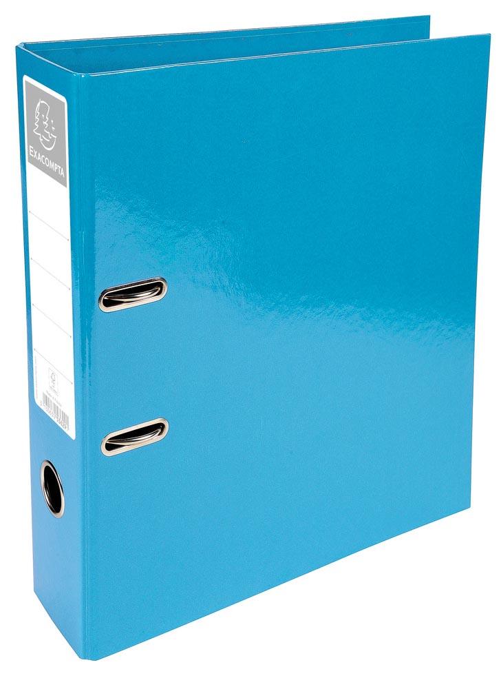 Exacompta Iderama ordner, ft A4, rug van 7 cm, lichtblauw