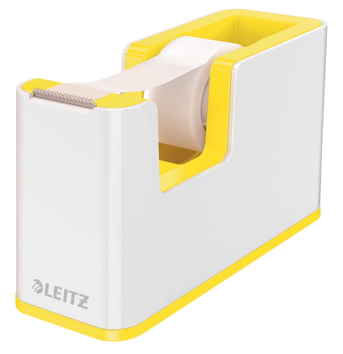 Leitz WOW plakbandafroller geel