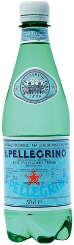 San Pellegrino water, fles van 50 cl, pak van 24 stuks