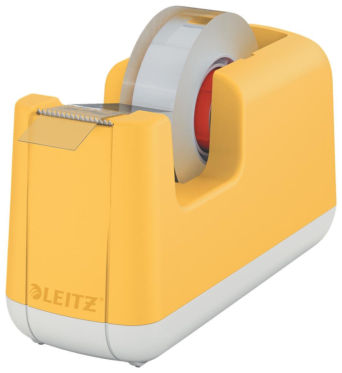 Leitz Cosy plakbandafroller, geel