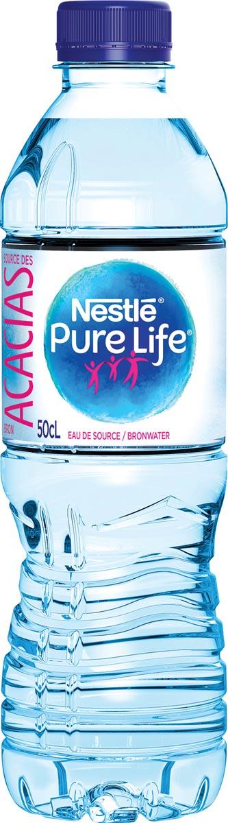 Nestle niet bruisend water Aquarel, flesje van 50 cl, pak van 24 stuks