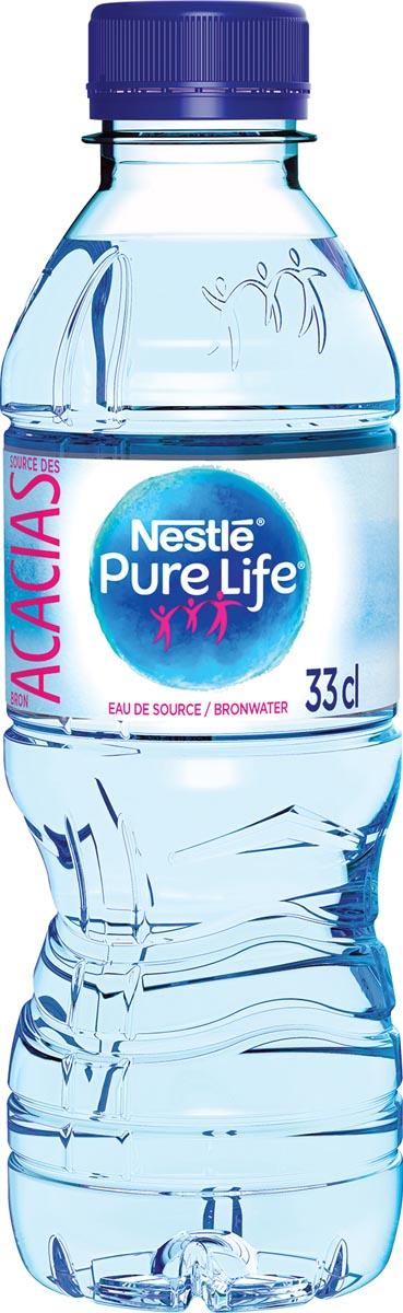 Nestle niet bruisend water Aquarel, flesje van 33 cl, pak van 24 stuks