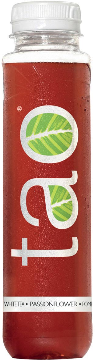 Tao Pure Infusion White Tea Pomegranate, flesje van 33 cl, pak van 18 stuks