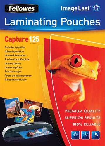 Fellowes lamineerhoes Capture125 ft 60 x 90 mm, 250 micron (2 x 125 micron), pak van 100 stuks