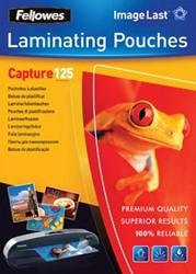 Fellowes lamineerhoes ft 60 x 90 mm, 250 micron (2 x 125 micron), pak van 100 stuks