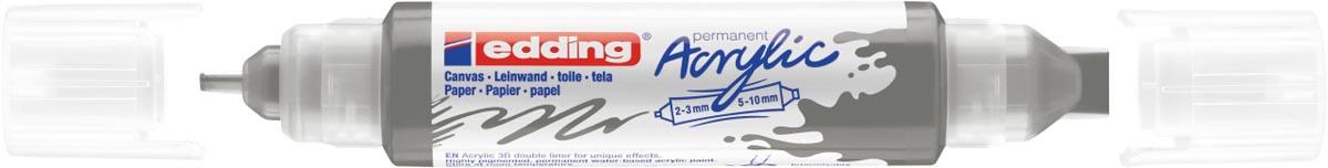 Edding 3D Acrylmarker double liner antracite
