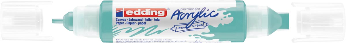 Edding 3D Acrylmarker double liner turquois