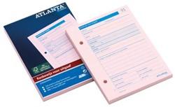 Atlanta blok kasbewijs voor uitgave