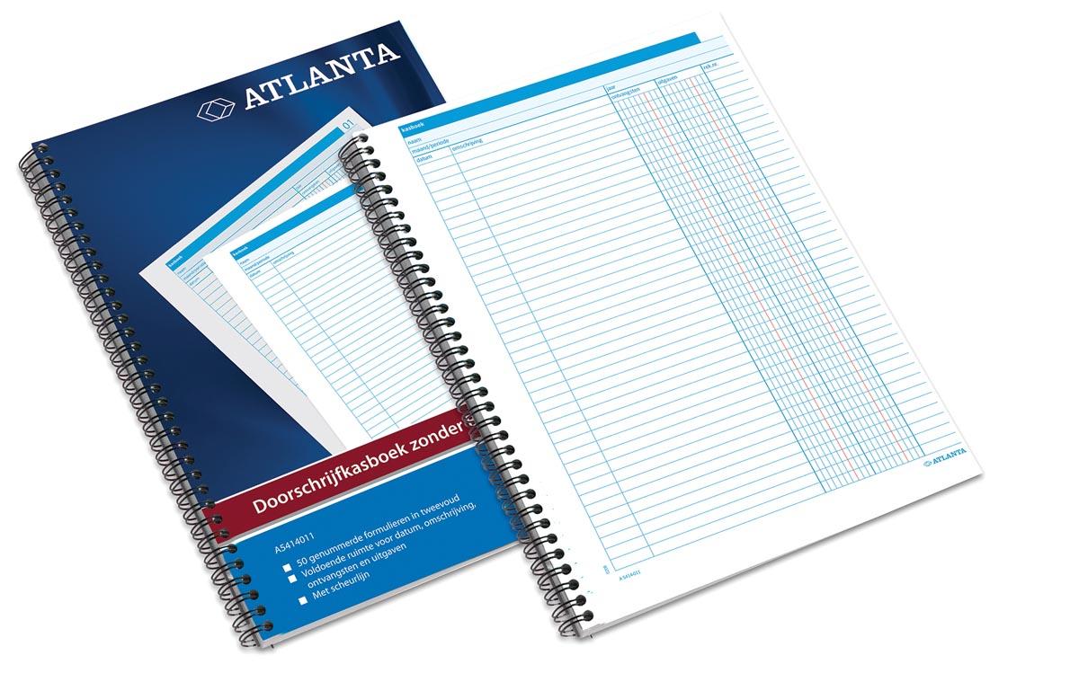 Atlanta by Jalema doorschrijfkasboeken 2 geldkolommen